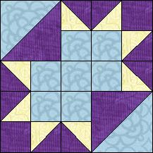Block of Day for November 08, 2016 - Queen Charlotte's Crown-strip piecing -The pattern may be downloaded until: Wednesday, November 30, 2016.