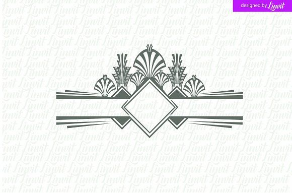 Luxury, Royal Wedding Logo by Linvit on @creativemarket
