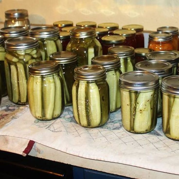 Kosher Dill Pickles Recipe - Ball® Fresh Preserving - I've just put up two & a half jars of this recipe.  Can't wait to try it and I used a dried chili cut in thirds for each jar. Di.