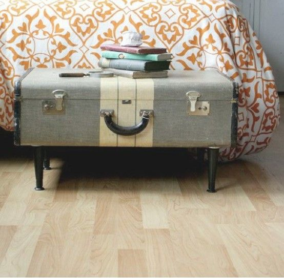 decorate vintage suitcase  | Decorating With Vintage Suitcases | Rustic Crafts & Chic Decor