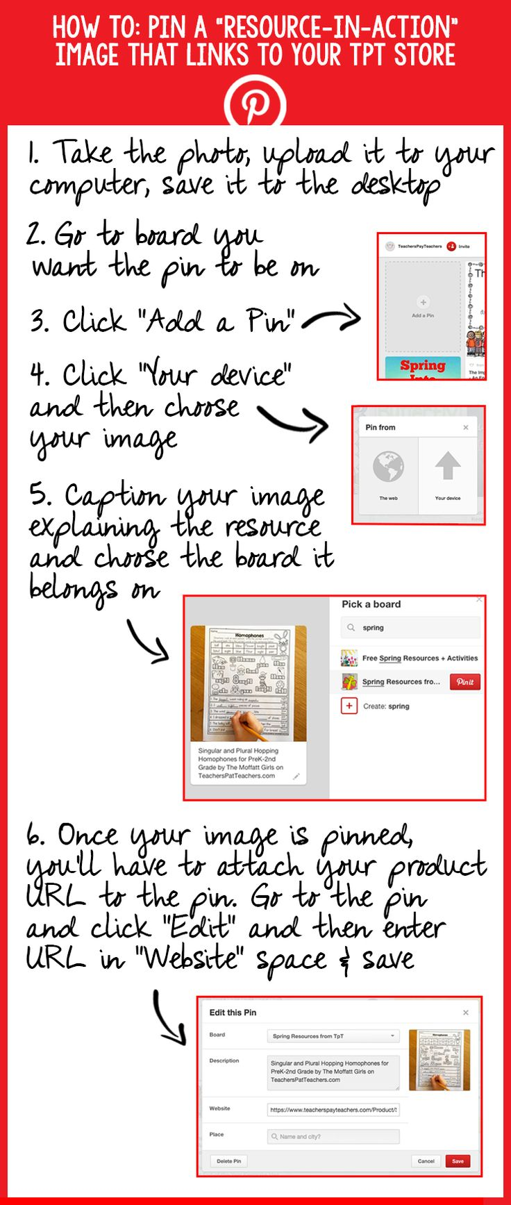 Pinterest Best Practices for TpT Teacher-Authors