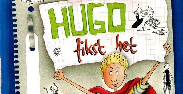 Hugo fikst het door zijn vriend wel even te helpen bij de meiden met een klein leugentje... Een leuk boek met mini leeslessen geschikt voor de bovenbouw.