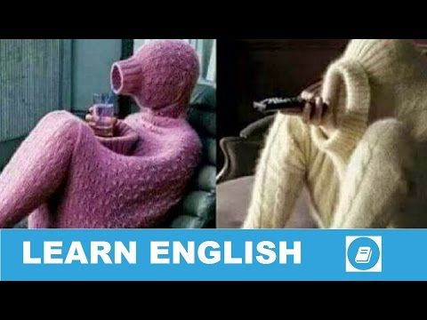 Learn English Vocabulary - Clothes 1 - Talking Flashcards - E ANGOL