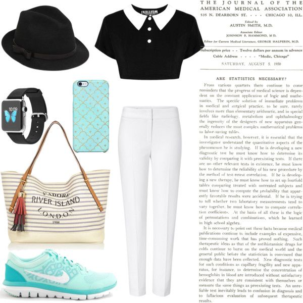 Untitled #17 by hanifahcandra on Polyvore featuring polyvore fashion style ESCADA NIKE River Island RED Valentino Uncommon