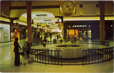 Picture Of A Mall Back In The 1970 S Back In The Day