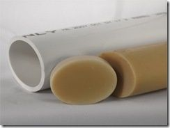 Great idea! PVC pipe warmed at 200 degrees for 20 mins. Then squished with rolling pin.