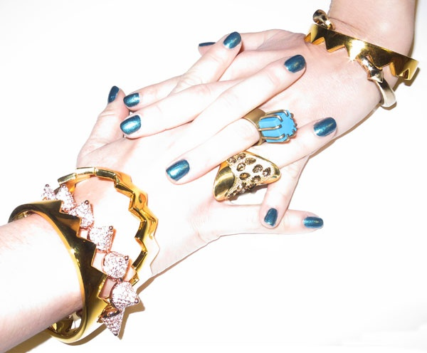 Jewelry from Eddie Borgo, Kelly Wearstler & Made her Think. 212 872 8901: Lady Accessories, Bracelets Rings, Inspiration, Fashion Clothing, Jewelry Design, Women Accessories, Jewels, Blue Nails, Accessories Watches