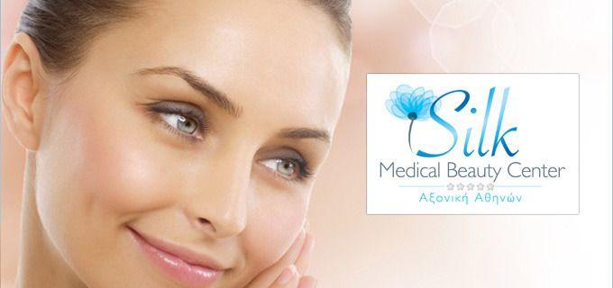 Ανόρθωση επιδερμίδας και ανανέωση και      εξάλειψη ρυτίδων με Αυτόλογη      Μεσοθεραπεία Προσώπου αυξητικών παραγόντων PRP! Η      εφαρμογή γίνεται από ιατρό δερματολόγο. Tο Silk Medical Beauty Center είναι το νέο δημιούργημα του Πρότυπου Διαγνωστικού Κέντρου Αξονική Αθηνών. Το τμήμα      Ιατρικής Αισθητικής και Κοσμετολογίας, έχει έμπειρο ιατρικό προσωπικό      εξειδικευμένο σε υπηρεσίες ομορφιάς και αγωγές αντιγήρανσης και ανάπλασης.