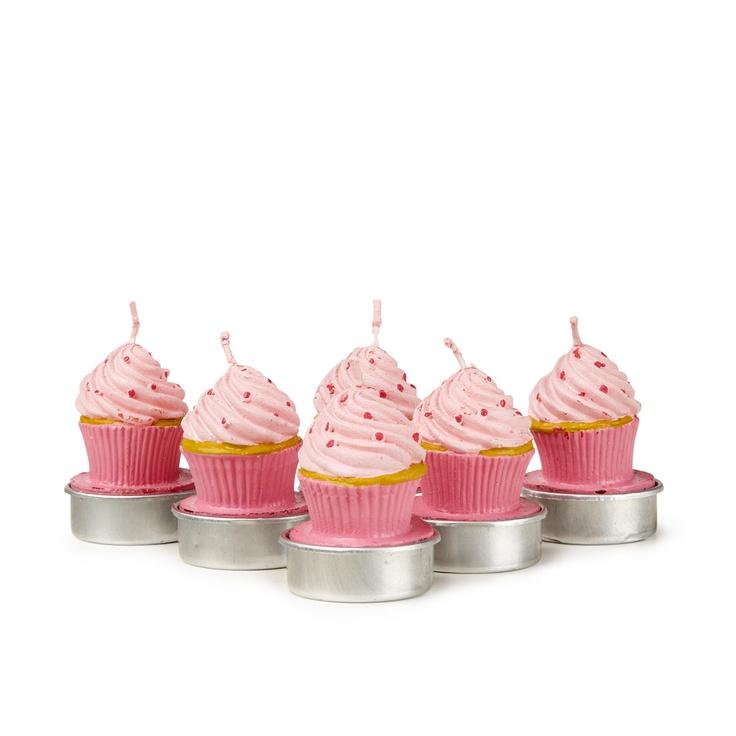 Pink Sprinkle Tea Light, $29.95 #sportsgirl