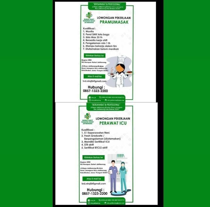 Lowongan Kerja Rs Harapan Sehat Jatibarang Sahabat Hubungan Perawat