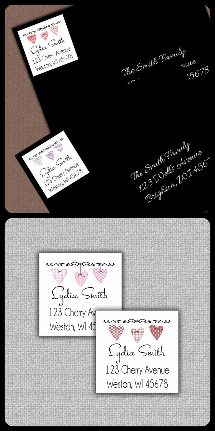 Best 25+ Personalized return address labels ideas on Pinterest