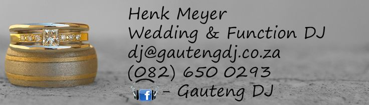 Mooiplaatsie - Wedding DJ Pretoria - Troue DJ - Gauteng DJ - Johannesburg Wedding DJ - Muldersdrift Wedding DJ - Henk Meyer