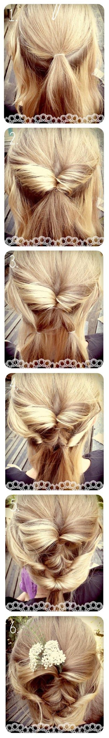 Make a Diy hairstyles tutorial.