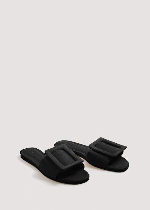 829c31ee507 Sandalia plana hebilla - Zapatos de Mujer en 2019