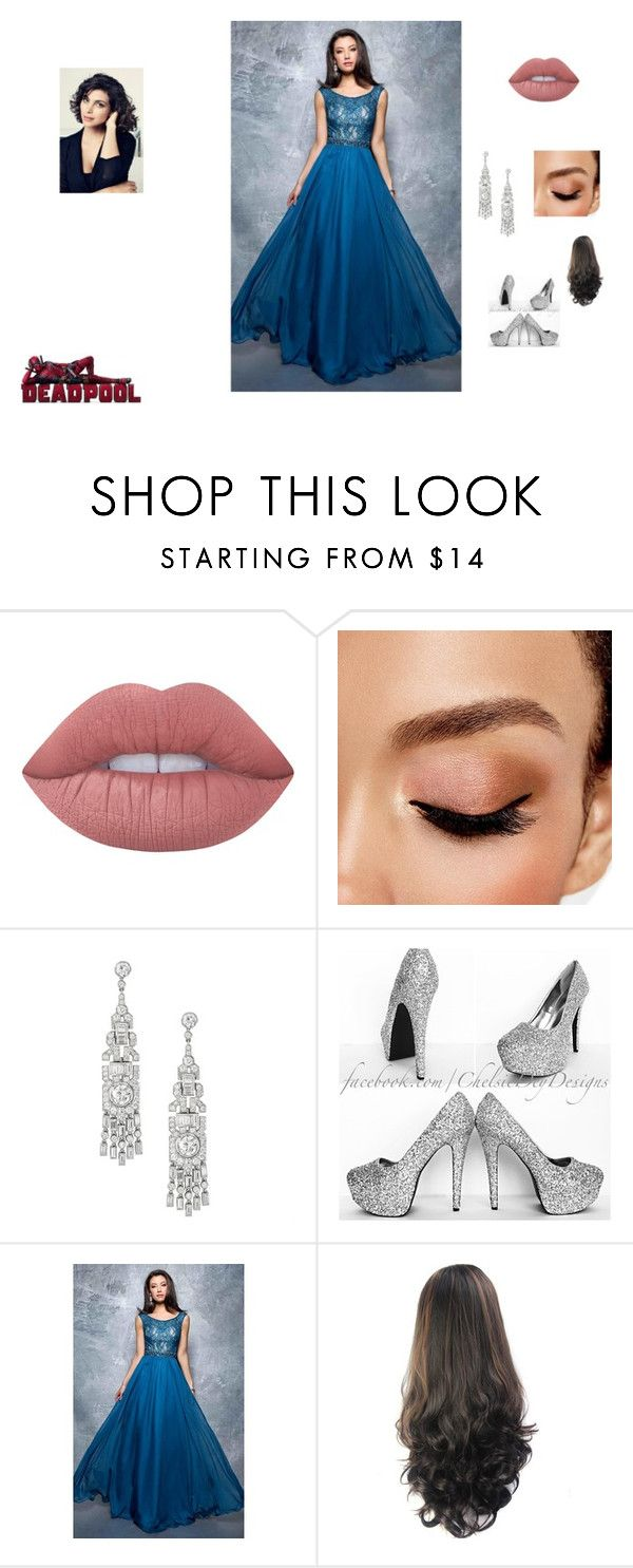 """""""Morena Baccarin 2017 Golden Globes"""" by fangirl-24 on Polyvore featuring Lime Crime, Avon, Nina Canacci, GoldenGlobes, fangirl, Awards, deadpool and morenabaccarin"""
