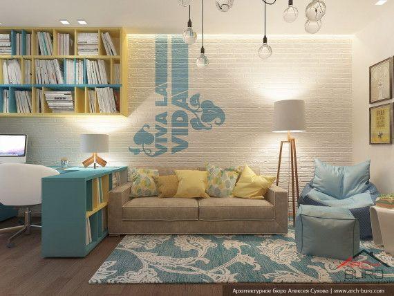 Дизайн детской комнаты, г. Тарко-Сале