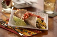 Change up your breakfast and try our Southwestern Breakfast Burritos recipe using our Rosina meatballs! www.rosina.com