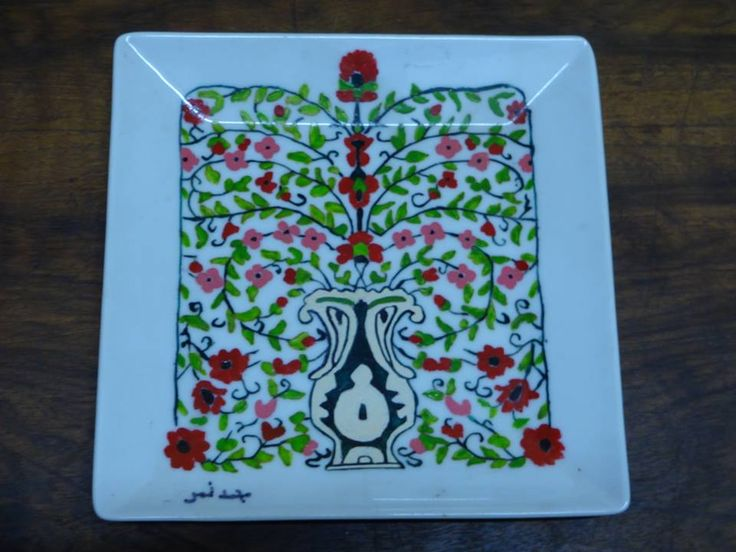 Ceramic Art | https://www.facebook.com/ZakharefArts | #turkish #pattern