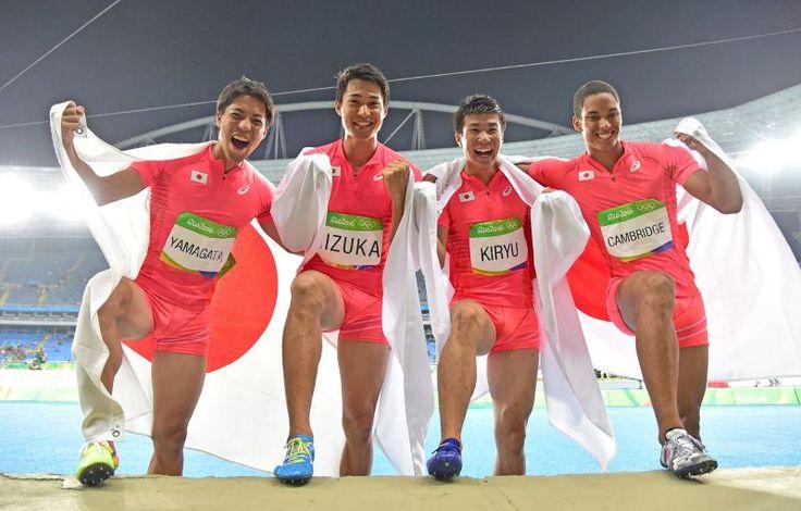 男子400mリレーはシドニーやアテネで「日本の陸上短距離種目で決勝に出られるなんて!」と注目し始め、北京で念願の銅メダルで大感動し、またあの再来を観たいと待っていたところでさらにそれを超えてくれるなんて本当に嬉しかったです‼︎  ---Miki