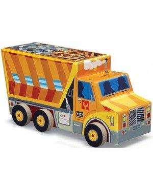 Stoere vloerpuzzel Dump Truck 48pc - Crocodile Creek