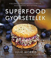 A természetes ételekkel és szupertáplálékokkal dolgozó séf, Julie Morris Superfood a konyhában és Superfood smoothie című könyvei után most megmutatja, hogy még azok az ételek is lehetnek egészségesek, amiket csak úgy futtában, két étkezés között, a délután ránk törő nassolás rohamban kapunk be.