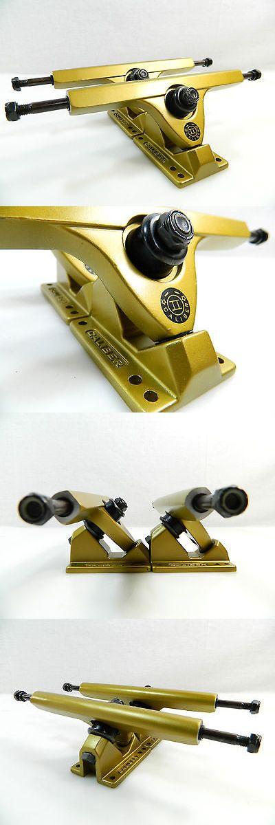 Trucks 165945: Caliber Ii 10 Inch 44 Degree Satin Gold Longboard Trucks Set Of 2 -> BUY IT NOW ONLY: $42.99 on eBay!