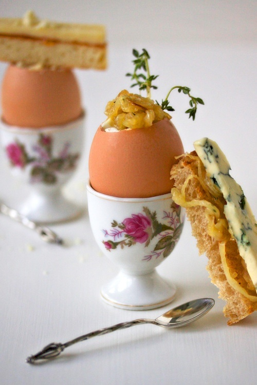 soft-boiled eggs and soldiers recipe
