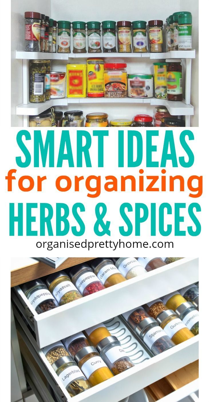 How To Store Your Spices Spice Organization Kitchen