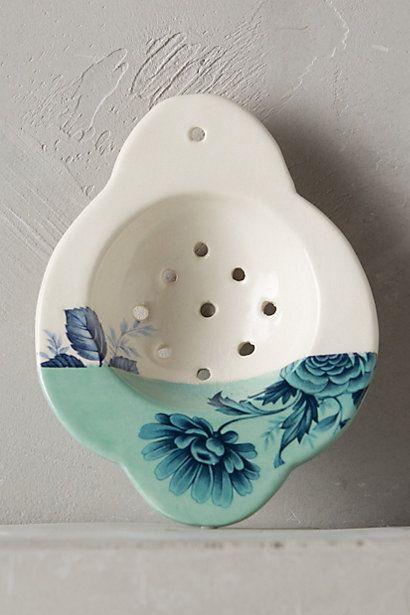 Ceramic Tea Strainer #anthropologie
