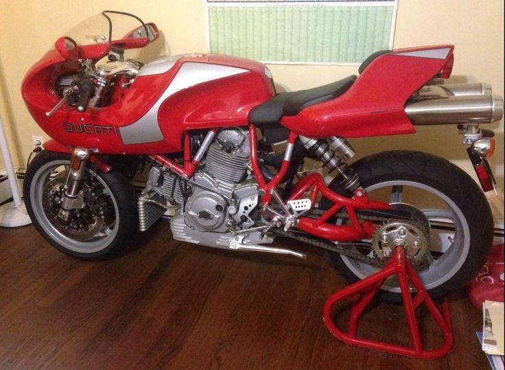 Ducati MH900e - Left Side