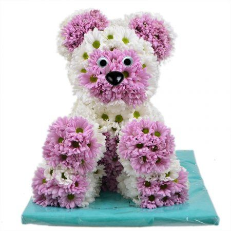 Fragrant flower teddy bear