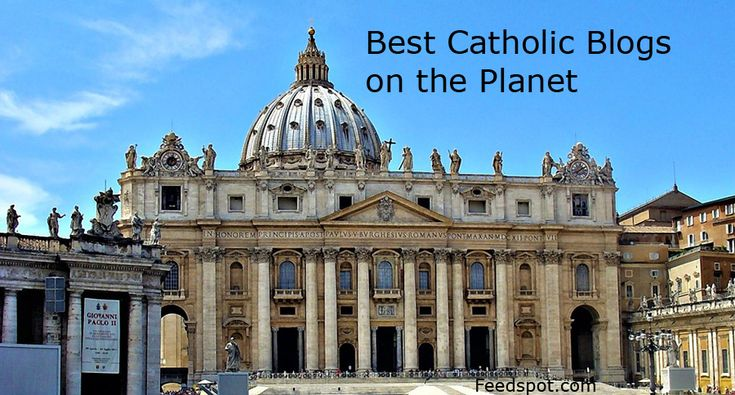 Top 100 Catholic blogsCatholic Blogs ListThe Best Catholic blogs from thousands of top Catholic blogs in our index using search and social metrics. Data will be refreshed once a week.These blogs are ranked based on following criteria 	Google reputation and Google search ranking...