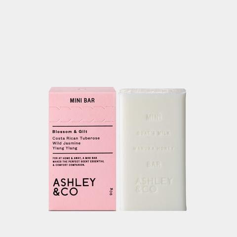 ashley and co mini bar soap blossom gilt bar   #womangifts www.ilkahome.com | @ilkahome