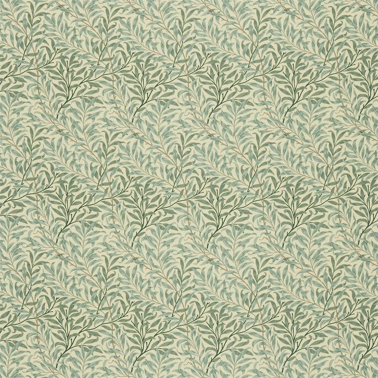 The Original Morris & Co - Arts and crafts, fabrics and wallpaper designs by William Morris & Company | Products | British/UK Fabrics and Wallpapers | Willow Boughs (DMFPWB201) | Morris Fabric Compilation