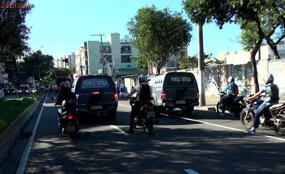 Atuação da polícia minimiza reflexos de manifestações na Grande Vitória