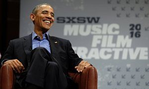 President Barack Obama at 2016 SXSW Interactive Festival