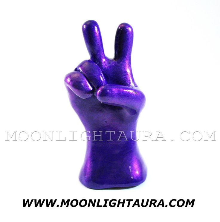 Shiny Sign Language Statue - Hand sculpture Peace Sign, College Fraternity Symbol - Any 1 Letter or Sign of your choosing - You Pick Color by SignLanguageHands on Etsy https://www.etsy.com/listing/86130532/shiny-sign-language-statue-hand