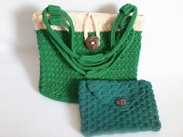 handbag and mini purse