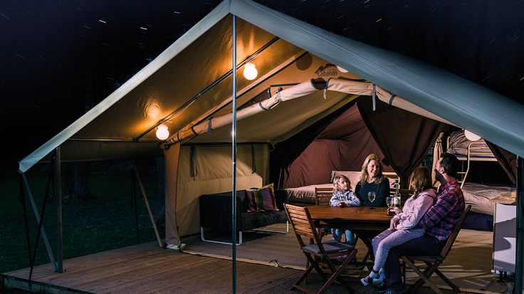 Ready Camp - Ready Camp - Glamping Holidays Around the UK at Hayfield campsite