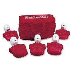 Life/form® Basic Buddy™ CPR Manikin 5-Pack ~ Adult Manikins ~ CPR