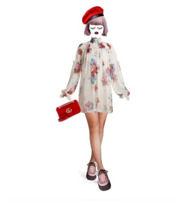 """""""Harajuku Gucci Street Doll"""" by shucreamu on Polyvore featuring ファッション"""