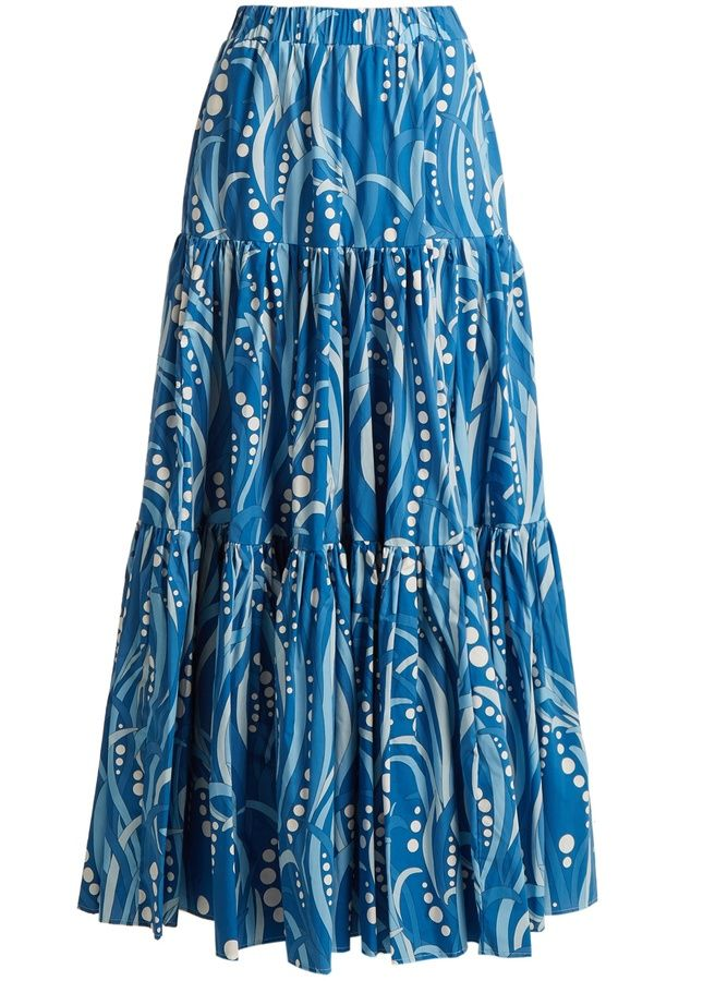 LA DOUBLEJ EDITIONS The Big gathered cotton maxi skirt. Maxi skirt fashions. I'm an affiliate marketer. When you click on a link or buy from the retailer, I earn a commission.