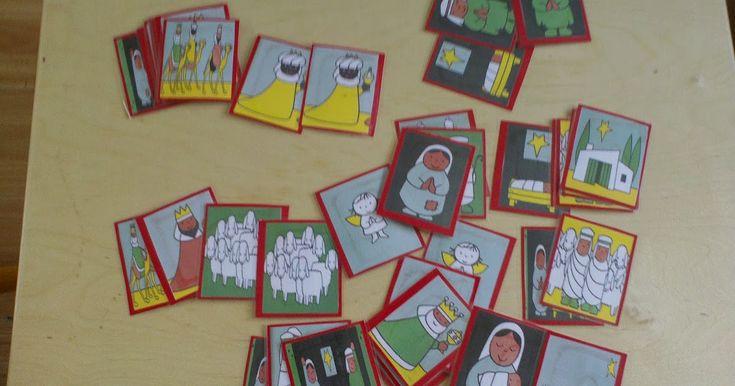 Alvast een leuk idee; een memorie maken van plaatjes uit het boek Kerstmis van Dick Bruna. http://www.kleutergroep.nl/Kerst/materialen/st...