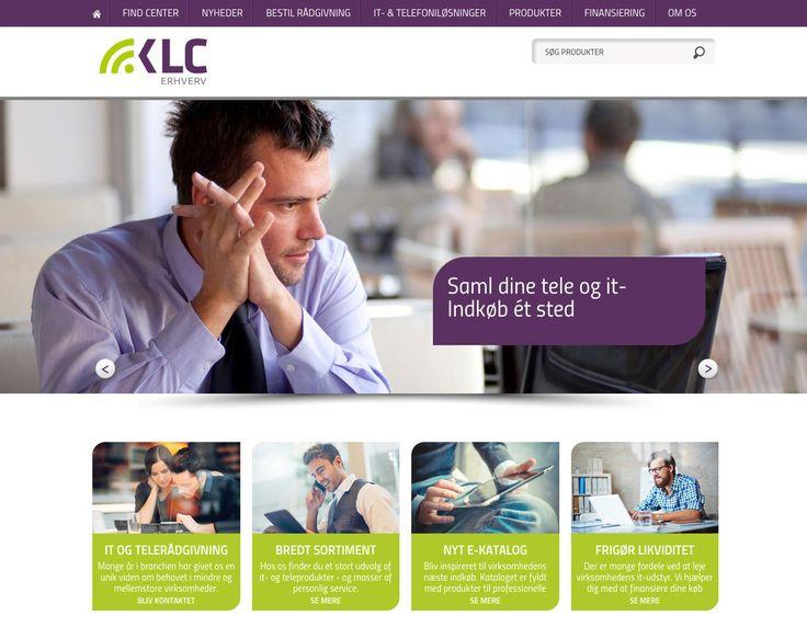 Vi har lavet ny hjemmeside, bygget i Wordpress til: http://klcerhverv.dk/