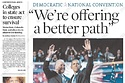 Obama's Message Breaks Through In Swing State Newspapers