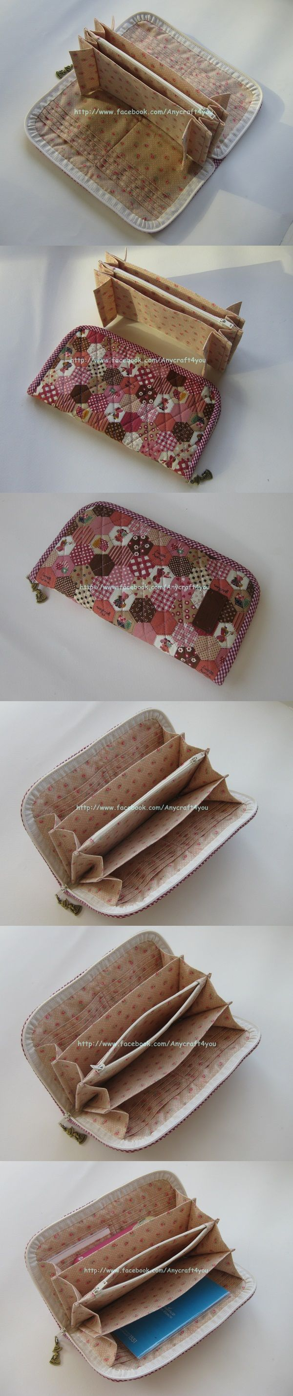 Chokie Pink Long Wallet