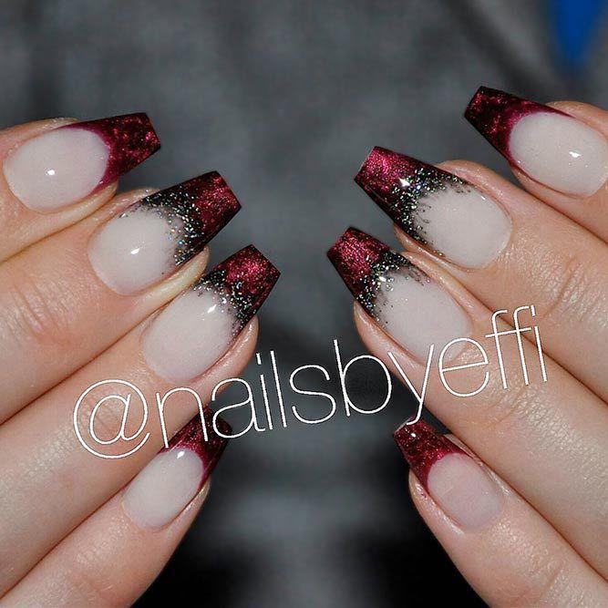 Daneloo French Nail Designs Acrylic Nail Designs Simple Nails