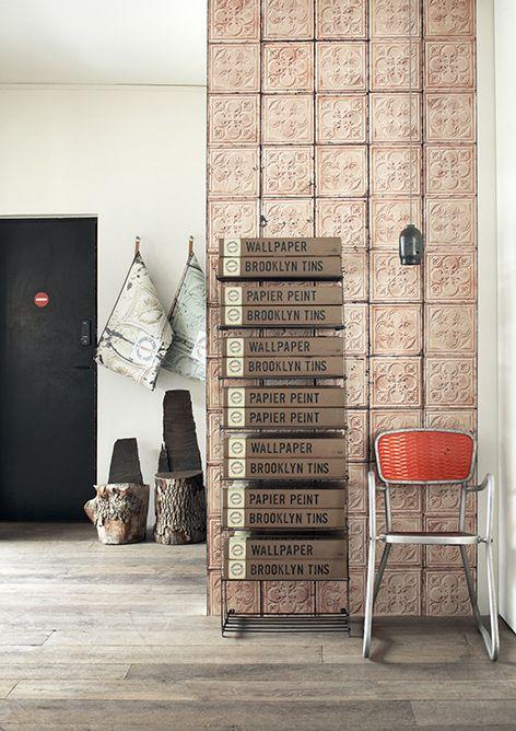 Empapela tus paredes con azulejos envejecidos NY Style   Etxekodeco