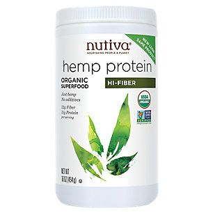 Product Image for Hemp Protein Hi Fiber (16 Ounces Powder)