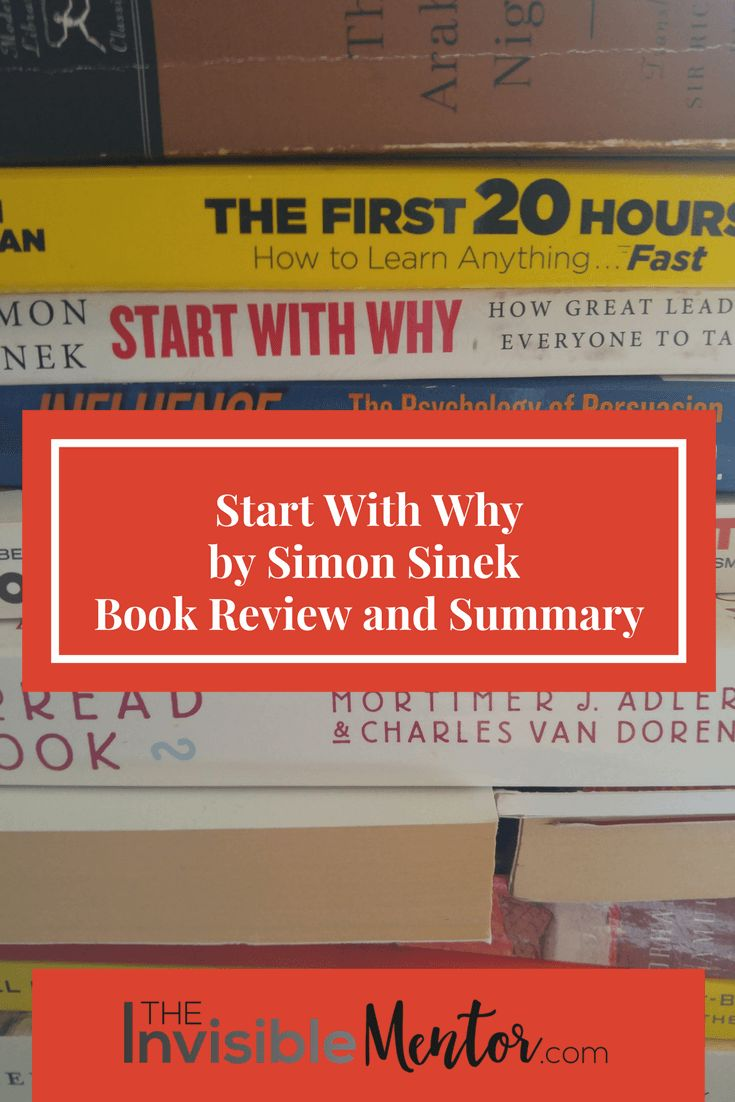 Have you read the business book Start With Why or watched Simon Sinek's TED Talk of the same name? This influential leadership book teaches you how to inspire others to follow you instead of manipulating them. When you have a strong WHY for What you do, those who align with your cause will follow you. When you lead with your WHY and not your WHAT, which is what most people and companies do, you will find the keys to sustained success. Click through to read my summary and review, Start with…